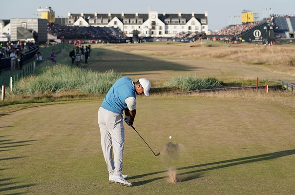 Tiger Woods 18th British Open Carnoustie 2018