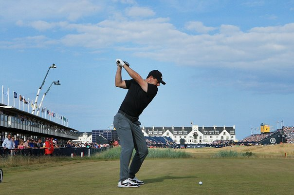 Rory McIlroy Northern Ireland 18th Hole Carnoustie 2018