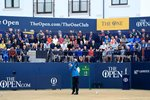 Sandy Lyle Scotland Opening Tee Shot Open Carnoustie 2018 Canvas