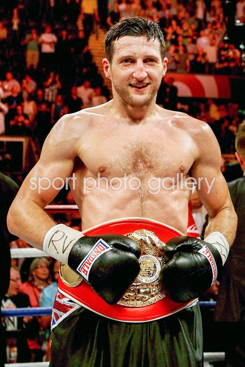 Carl Froch IBF World Super Middleweight Champion