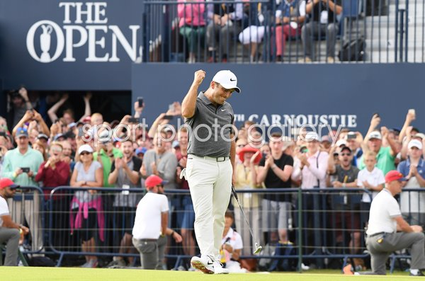 Francesco Molinari Wins British Open Carnoustie 2018
