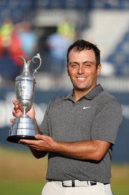 Francesco Molinari British Open Champion Carnoustie 2018