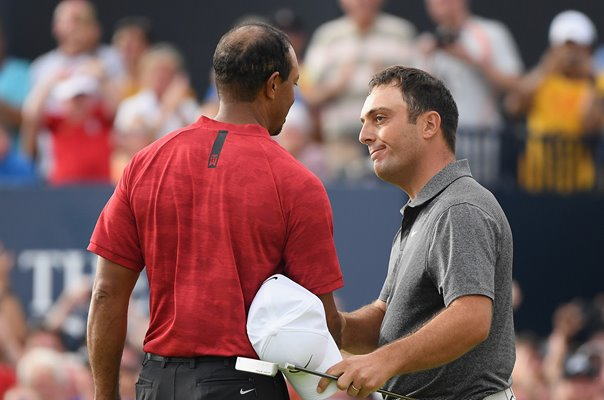 Francesco Molinari & Tiger Woods Open Championship Carnoustie 2018