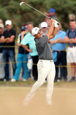 Francesco Molinari Italy Action British Open Carnoustie 2018