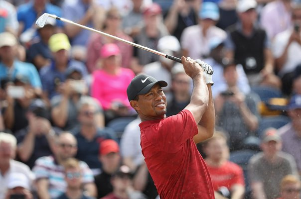 Tiger Woods Final Round Open Championship Carnoustie 2018