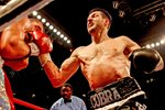 Carl Froch knocks out Lucian Bute Nottingham 2012 Prints