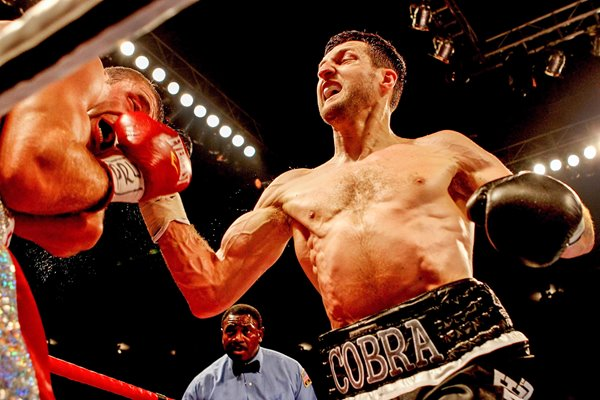 Carl Froch knocks out Lucian Bute Nottingham 2012