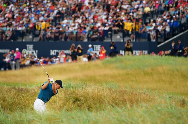 Jordan Spieth USA 18th Hole British Open Carnoustie 2018