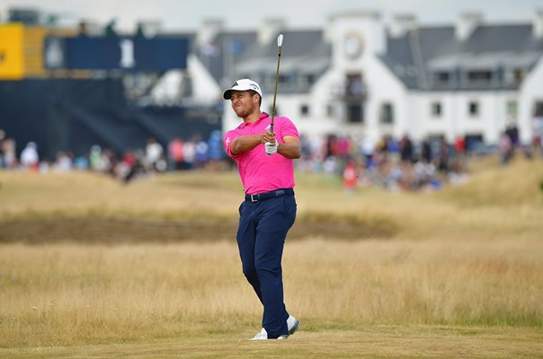Xander Schauffele Final Round British Open Carnoustie 2018