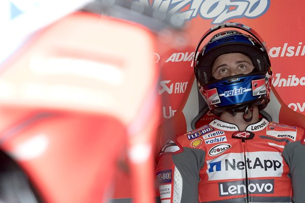 Andrea Dovizioso MotoGP of Germany Qualifying 2018