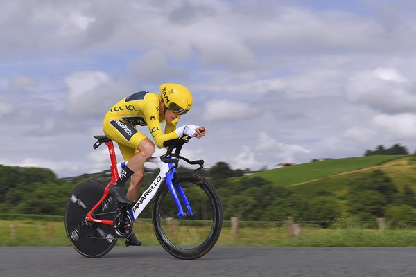 Geraint Thomas Stage 20 Time Trial Tour de France 2018