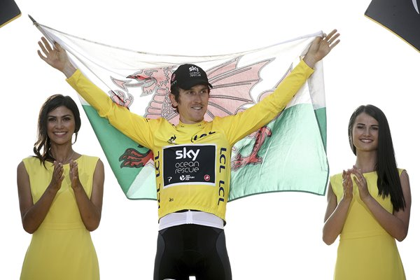 Geraint Thomas Wales Team Sky Tour de France 2018 Winner