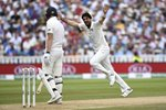 Ishant Sharma Celebrates England v India 1st Test Day Three Prints