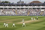 Ben Stokes Pandya Wicket England v India 1st Test Day Four Frames