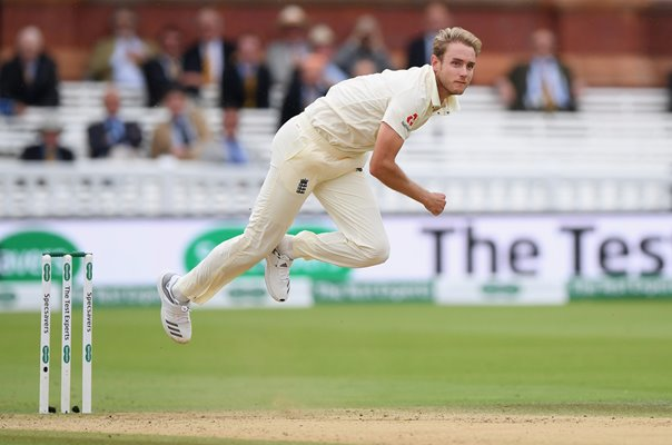 Stuart Broad England v India Lord's Test 2018