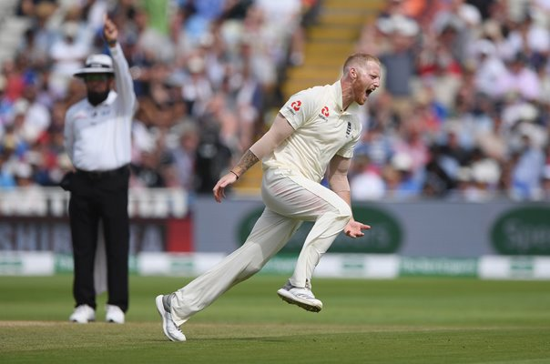 Ben Stokes England v India 1st Test Edgbaston 2018