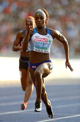 Dina Asher-Smith Great Britain European Athletics Championships 2018