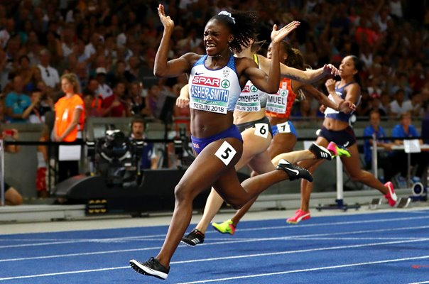 Dina Asher-Smith wins 100 metres Europeans Berlin 2018