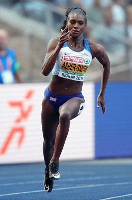 Dina Asher-Smith 200 metres Europeans Berlin 2018