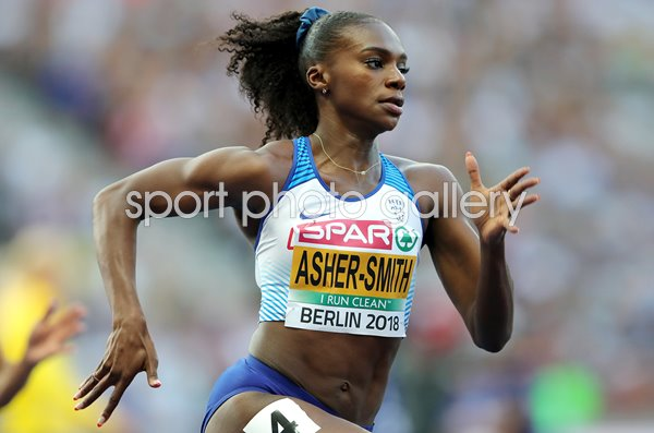 Dina Asher-Smith 200m European Championships Berlin 2018