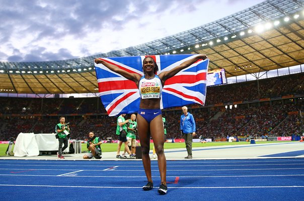 Dina Asher-Smith European 200m Champion Berlin 2018