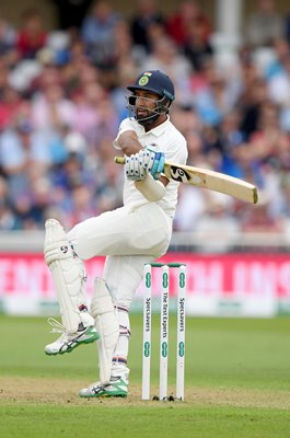 Cheteshwar Pujara India v England Trent Bridge 2018