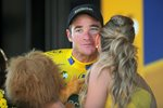 Thomas Voeckler Yellow Jersey Tour De France 2011 Stage 17 Prints