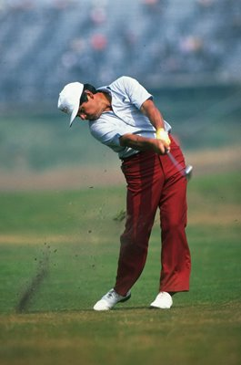 Lee Trevino USA British Open Birkdale 1983