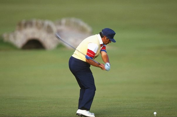 Lee Trevino USA British Open St Andrews 1990