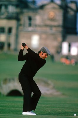 Gary Player South Africa 18th Tee St Andrews