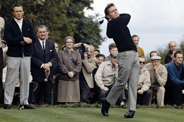 Gary Player v Arnold Palmer Piccadilly World Match Play 1964