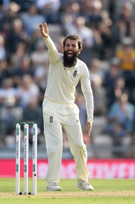 Moeen Ali England appeals v India 4th Test Ageas Bowl 2018