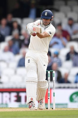 Alastair Cook England Century v India Kia Oval 2018