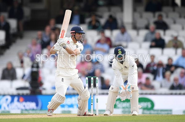 Alastair Cook England Century v India The Oval 2018