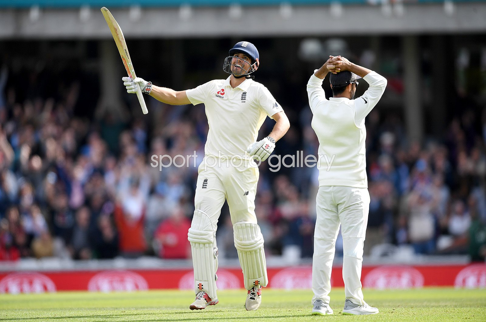 Alastair Cook England reaches 100 Final Innings The Oval 2018