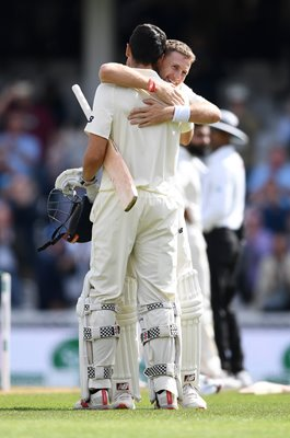 Joe Root & Alastair Cook England The Oval 2018