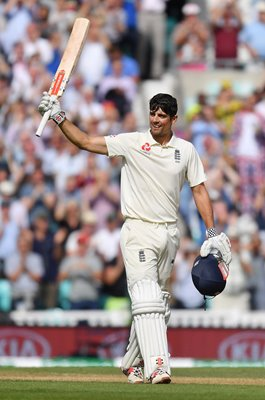 Alastair Cook England Century Final Innings Oval 2018