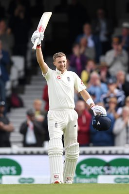 Joe Root England Captain Century v India The Oval 2018