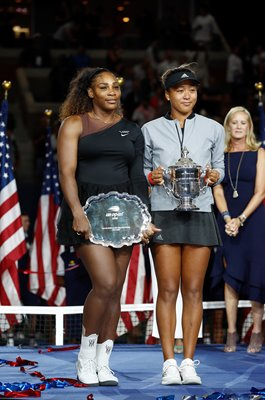 Naomi Osaka Champion & Serena Williams Runner Up US Open 2018