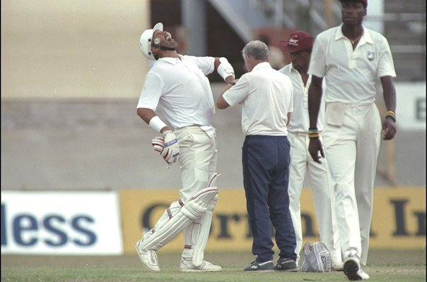 Graham Gooch England v West Indies Trinidad 1987