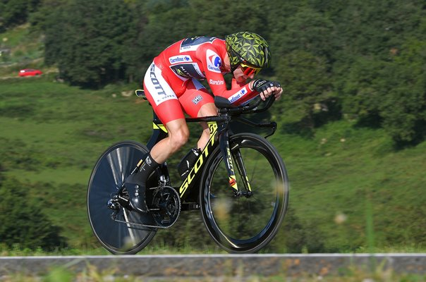 Simon Yates Great Britain Stage 16 Time Trial Vuelta 2018