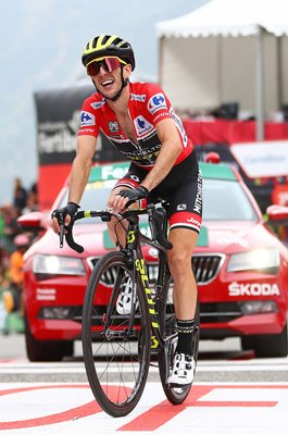 Simon Yates Great Britain Stage 20 Coll de La Gallina Vuelta 2018