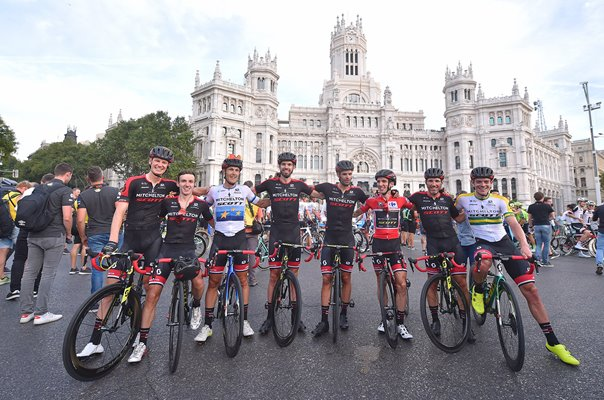 Simon Yates & Mitchelton-Scott Tour of Spain Madrid 2018