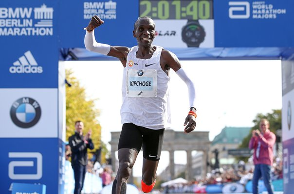 Eliud Kipchoge Kenya World Record Berlin Marathon 2018