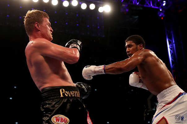 Anthony Joshua v Alexander Povetkin World Heavyweight Title London 2018