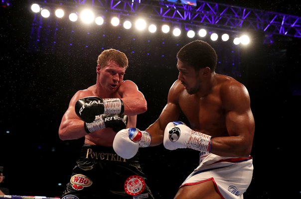 Anthony Joshua v Alexander Povetkin World Title Fight London 2018