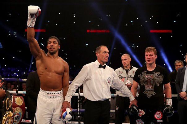 Anthony Joshua beats Alexander Povetkin Heavyweight Boxing Wembley 2018