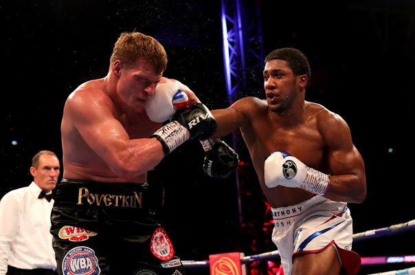 Anthony Joshua v Alexander Povetkin Title Fight Wembley 2018