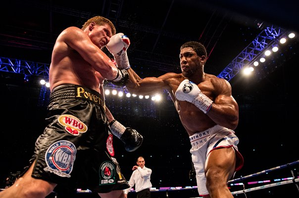 Anthony Joshua v Alexander Povetkin Boxing Wembley 2018
