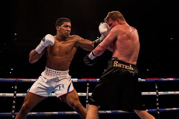 Anthony Joshua v Alexander Povetkin World Heavyweight Fight 2018